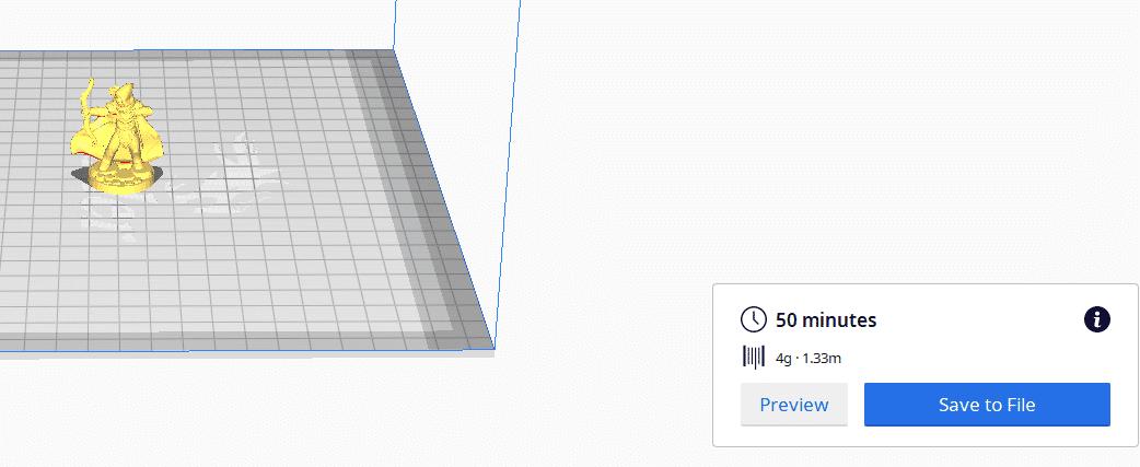 How Long to 3D Print - Miniature - 3D Printerly
