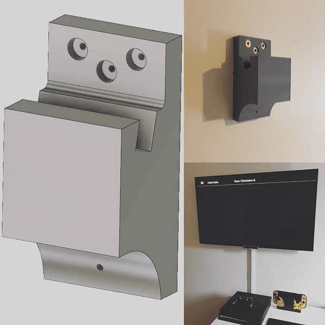 PLA 3D TV Wall Mount