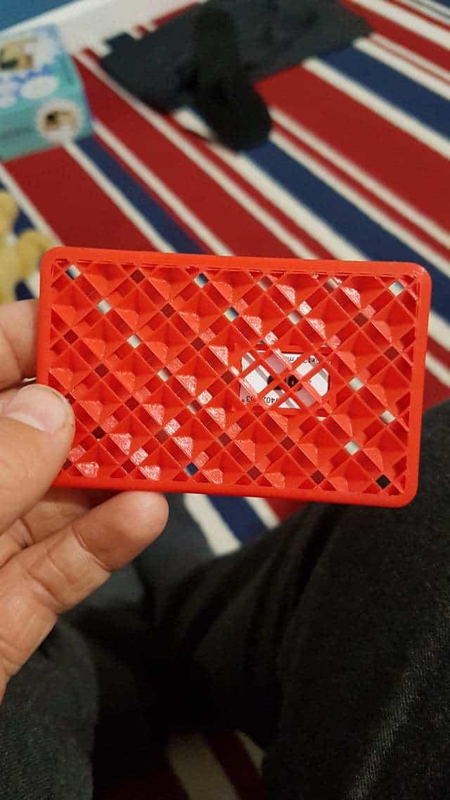 3D Printed School Keycard