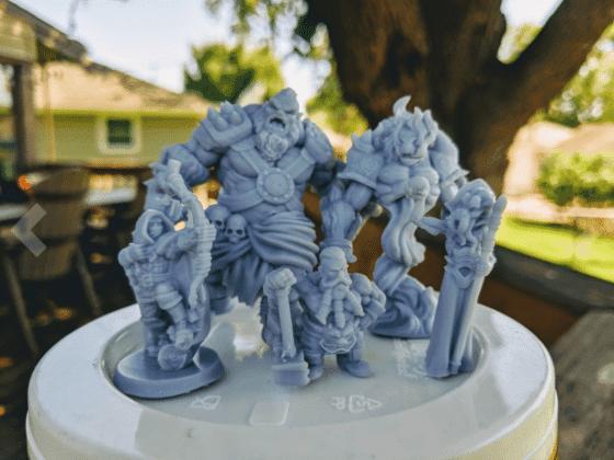 ELEGOO Mars 3D Printed Minis