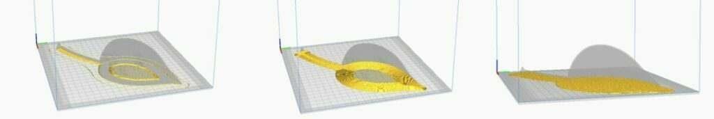 Leaf - Skirt Vs Brim Vs Raft - 3D Printerly