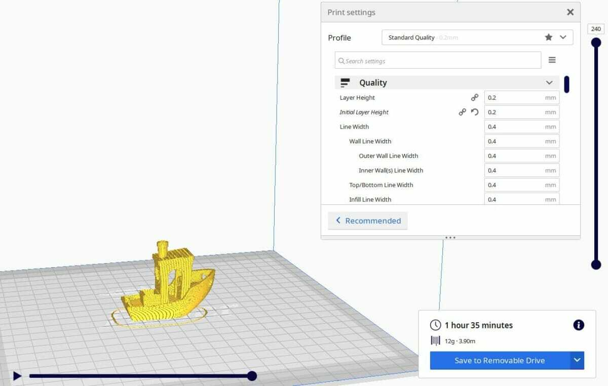 Benchy 0.2mm Layer Height - 3D Printerly