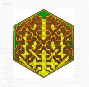 Cross Infill Pattern - Cura - 3D Printerly