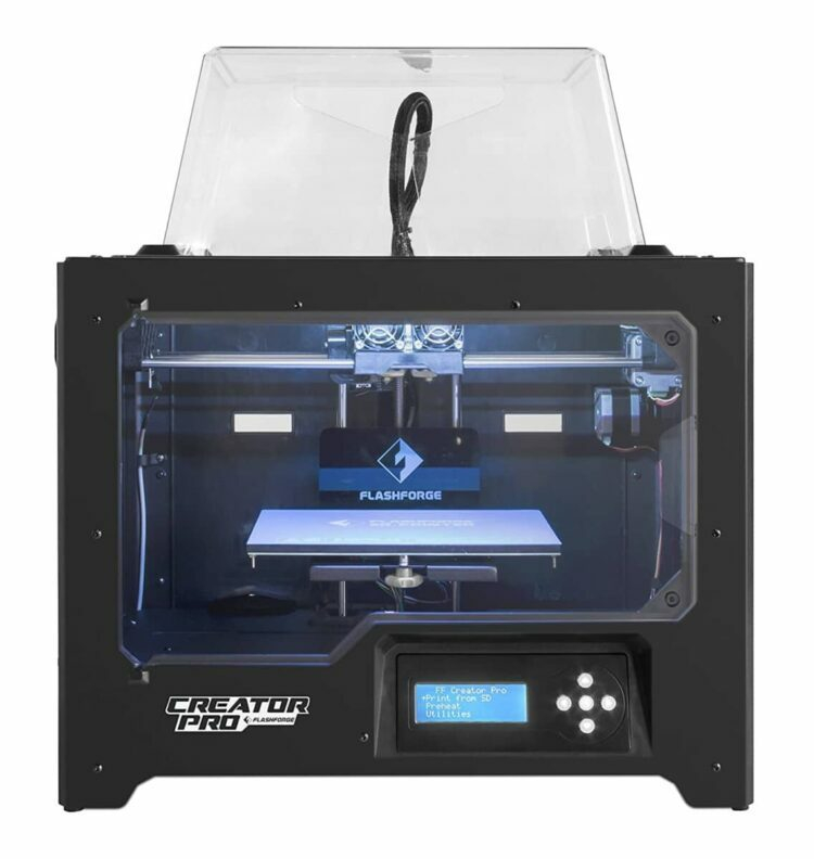 FlashForge Creator Pro Review - 3DPrinterly