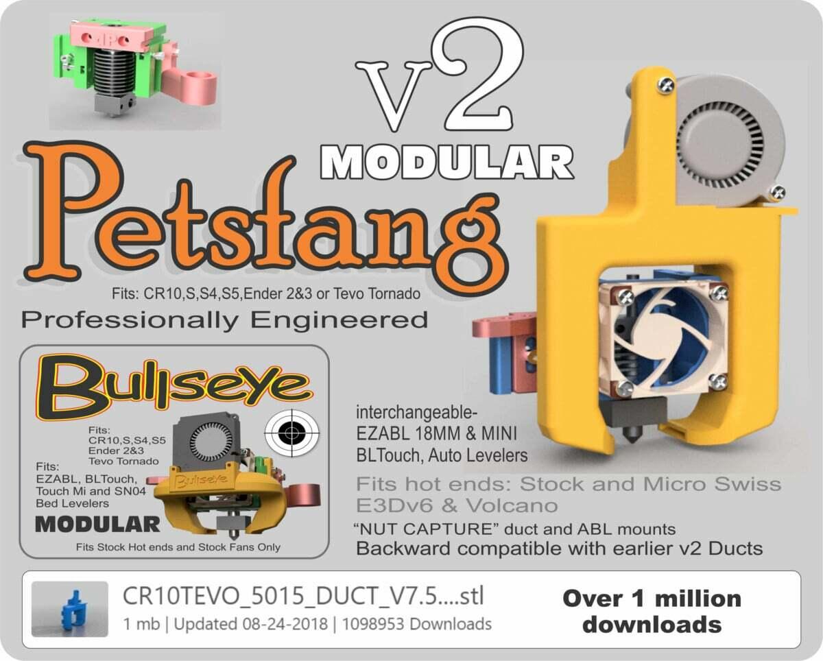 Ender 3 Upgrades - Petsfang Duct - 3D Printerly