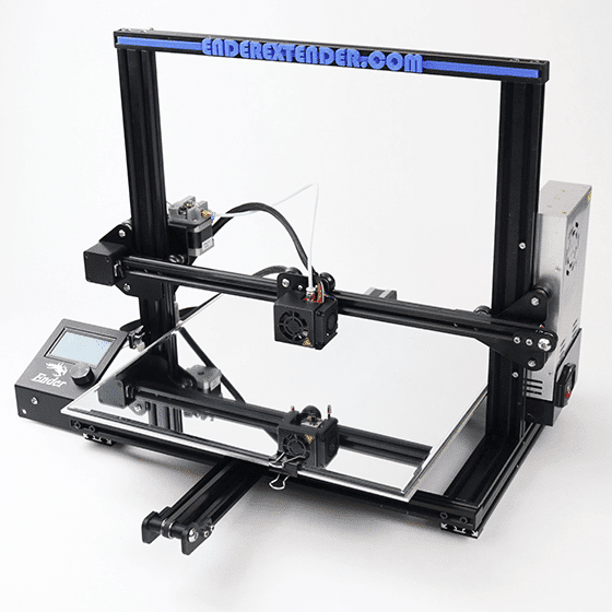 Make Ender 3 Bigger - Ender Extender 400 (Pro) - 3D Printerly