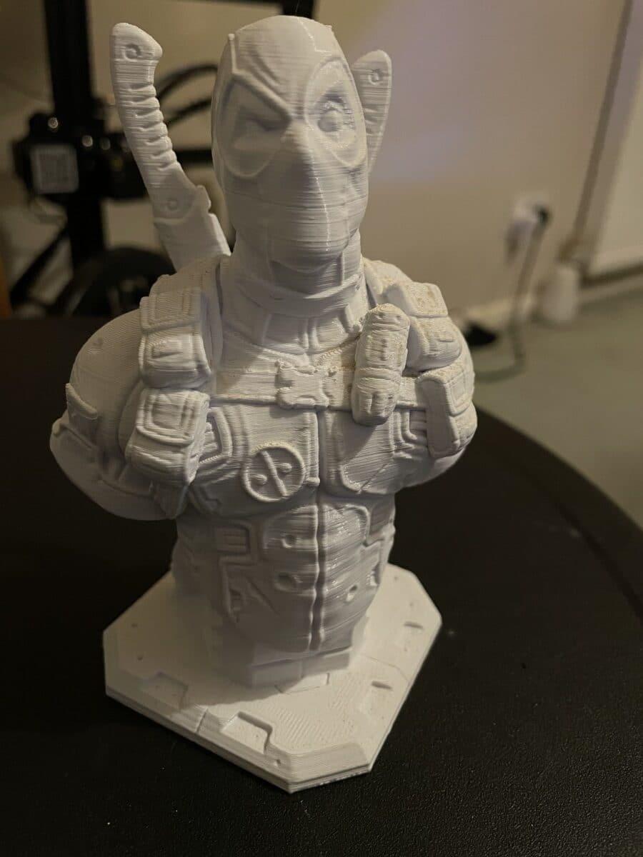 Determine Nozzle Diameter - Deadpool Model 0.4mm - 3D Printerly