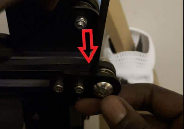 Fix Tension on 3D Printer - Hex Key Between Tensioner - 3D Printerly
