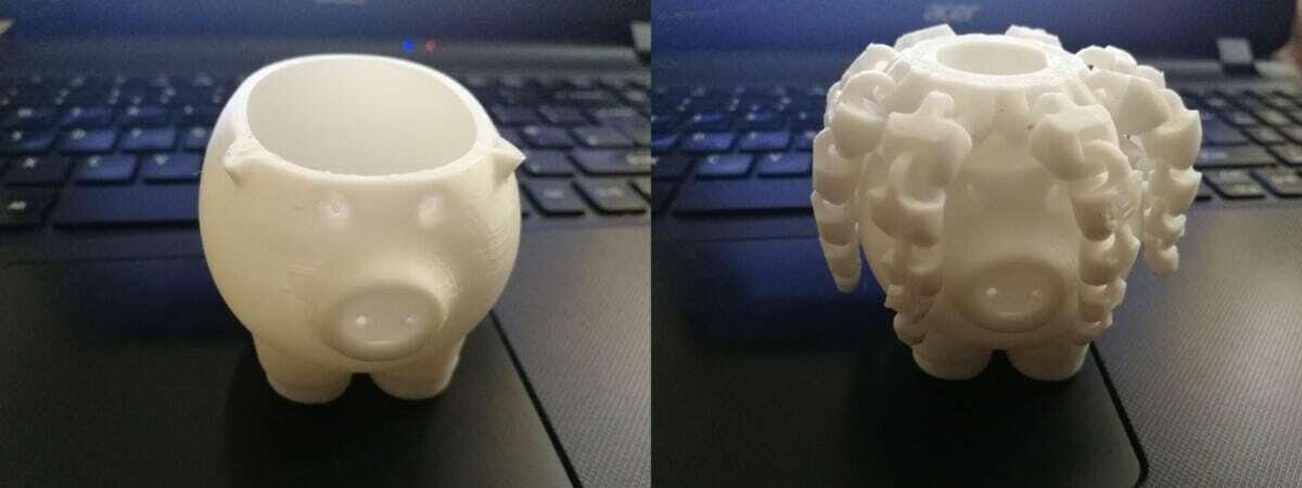 Rasta Pig - Filament Run Out Function - 3D Printerly