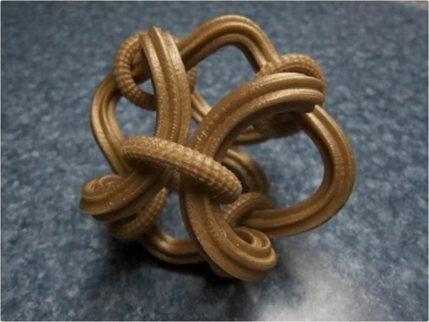What Shapes Cannot Be 3D Printed - Puzzle Knot - 3D Printerly