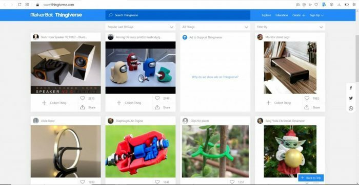 Best Places to Download 3D Printer Models - Thingiverse - 3D Printerly
