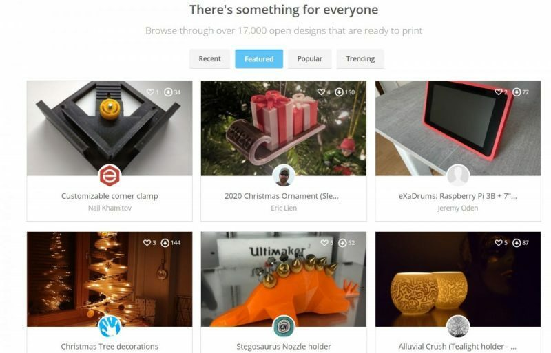 Best Places to Download 3D Printer Models - YouMagine- 3D Printerly