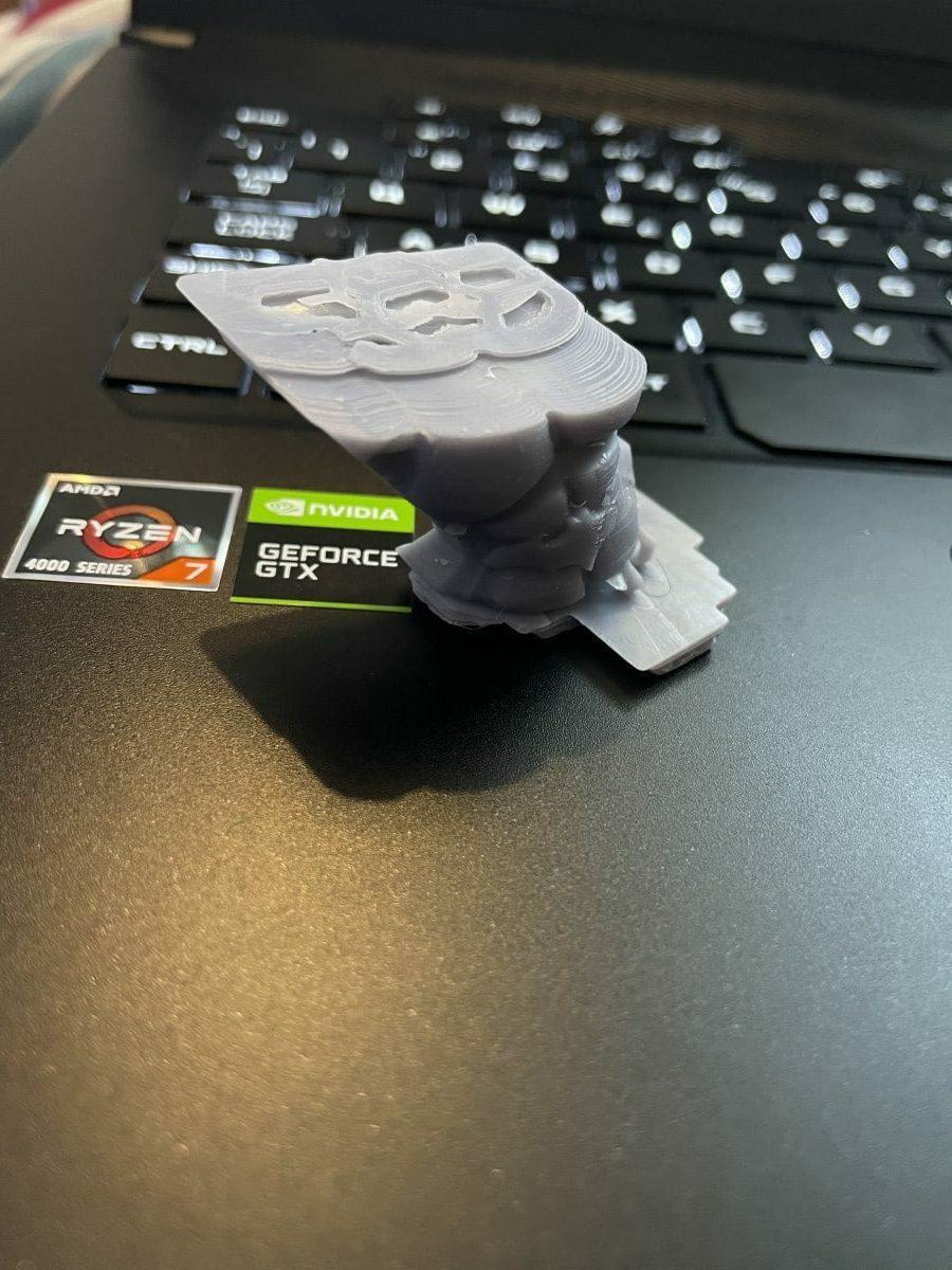 Anycubic Photon Mono X Review - Batman Layer Shift - 3D Printerly