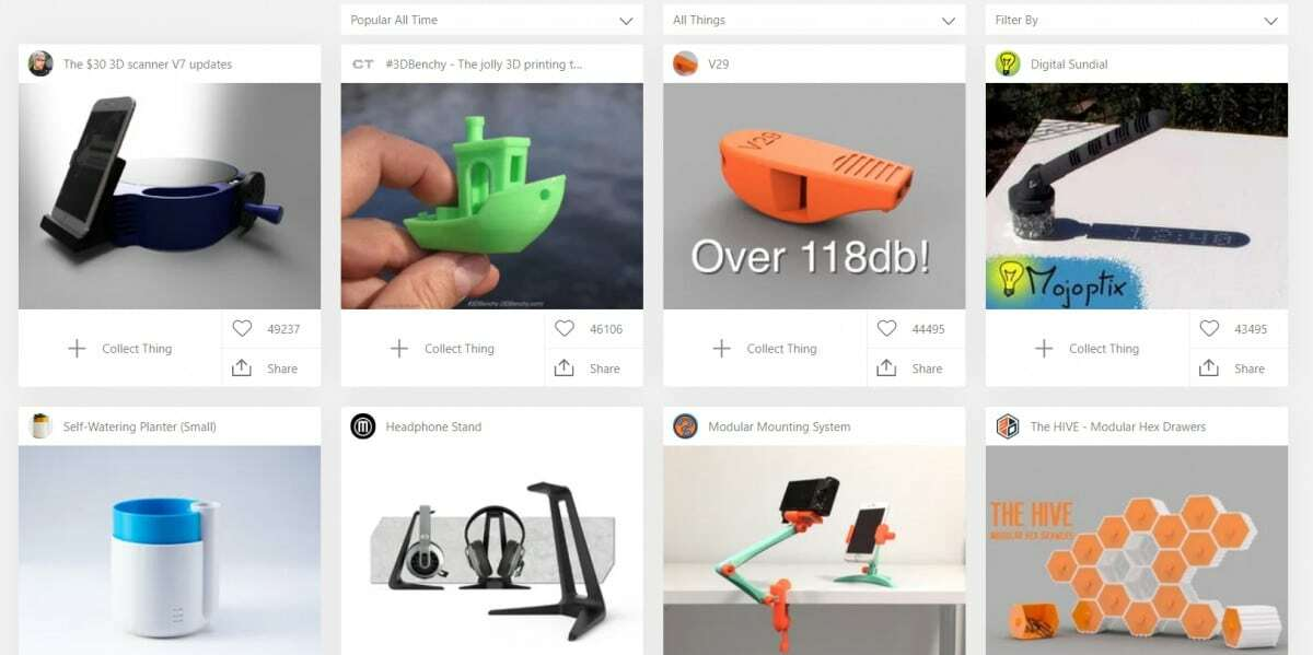 Best Places to Download 3D Printer Models - Thingiverse Popular 1 - 3D Printerly