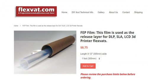 What is the Best Alternative to FEP Film for Resin 3D Printers?