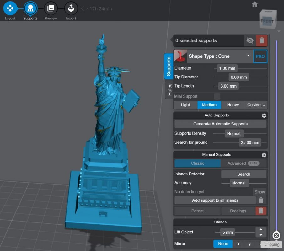 How to Add Supports - Lychee Slicer Supports Section - 3D Printerly