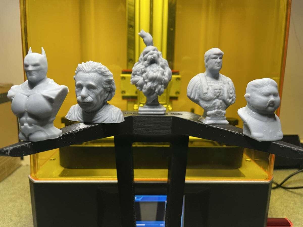 Photon Mono X Review - Grey Resin Prints - 3D Printerly