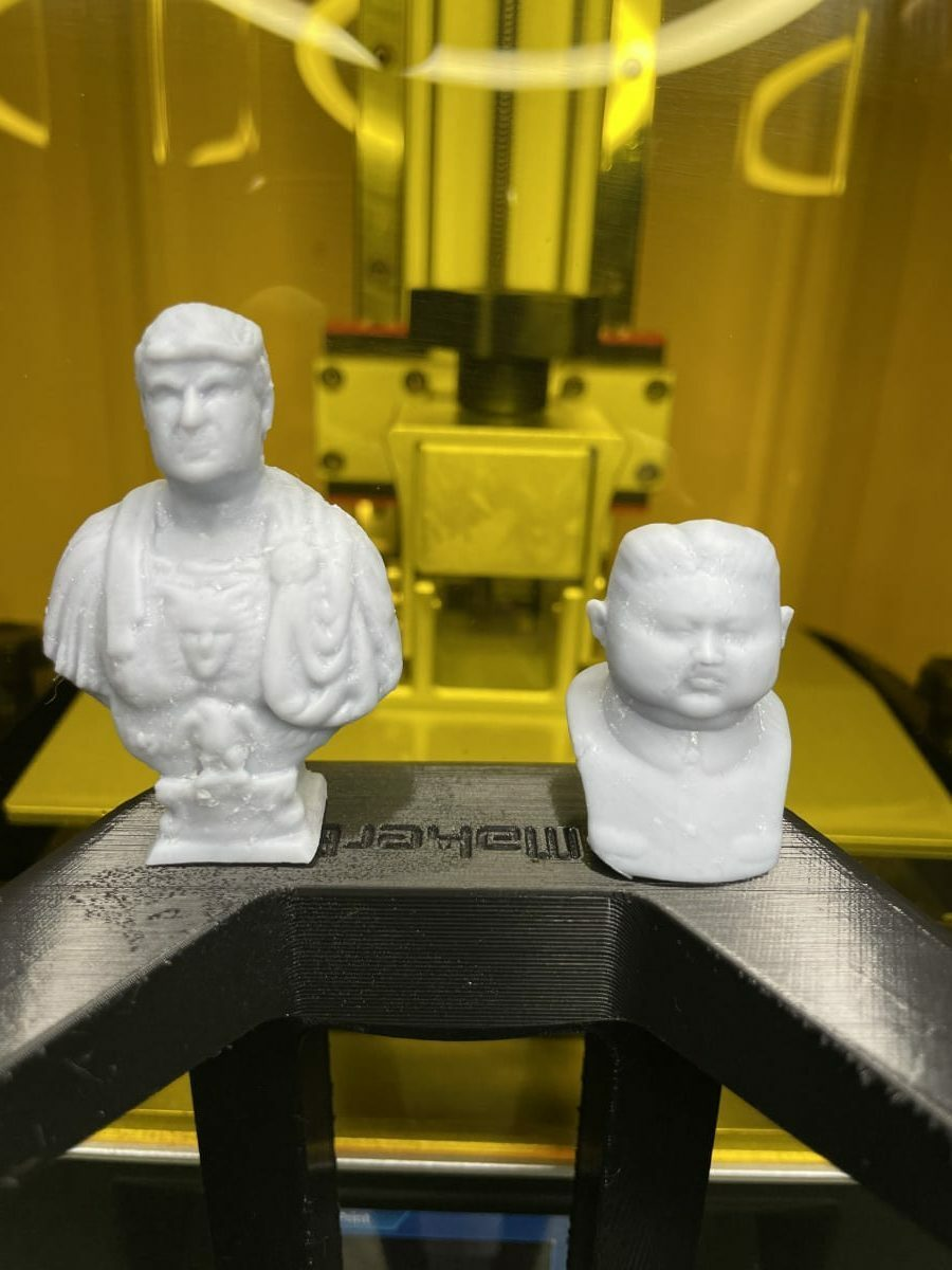 Photon Mono X Review - Trump & Kim Jong Un - 3D Printerly