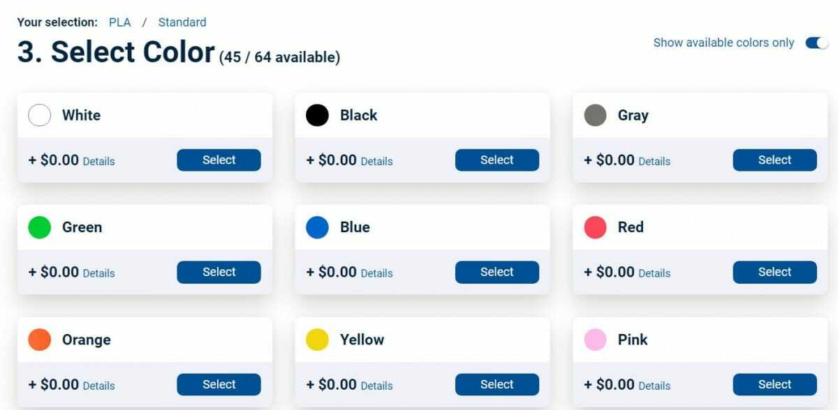 Is 3D Printing Expensive - Select Color - 3D Printerly