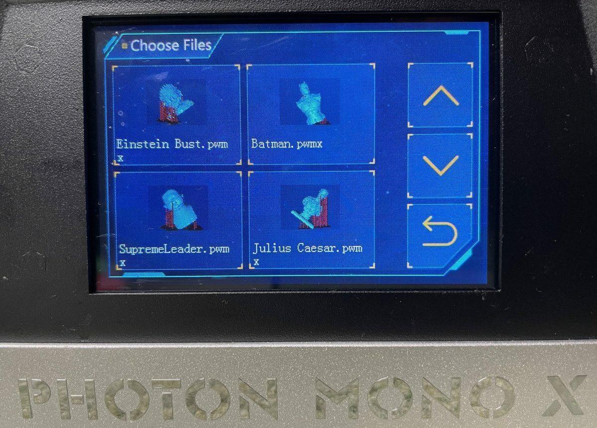 Photon Mono X Review - Touchscreen Display - 3D Printerly