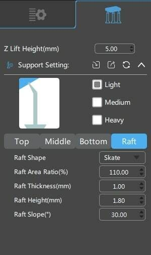 Best Resin Settings - Raft Support Settings - 3D Printerly