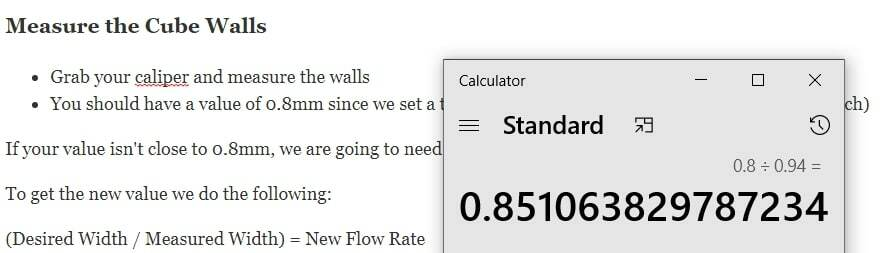 How to Calibrate 3D Printer Temperature - Calculating New Flow Rate - 3D Printerly