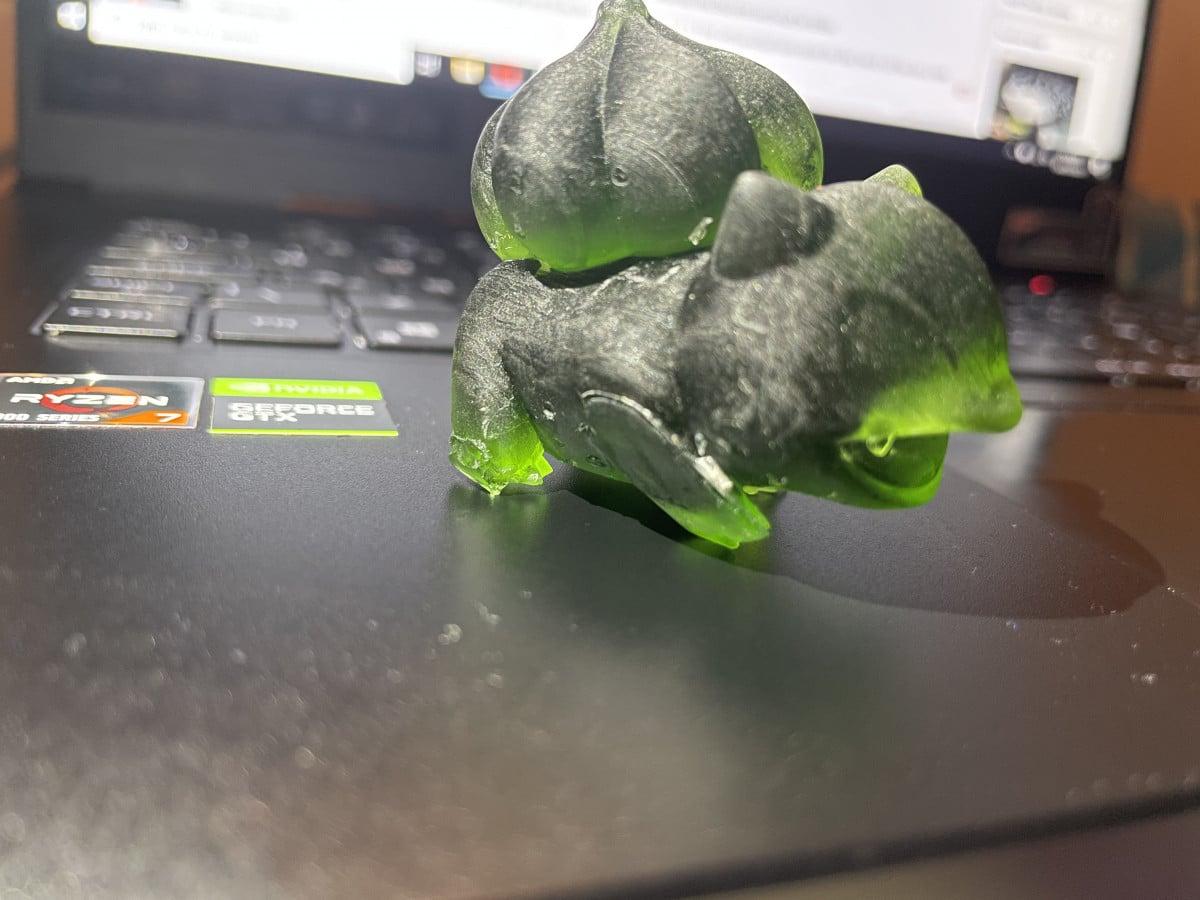 Why Resin 3D Prints Fail - Bulbasaur Failed Legs - 3D Printerly