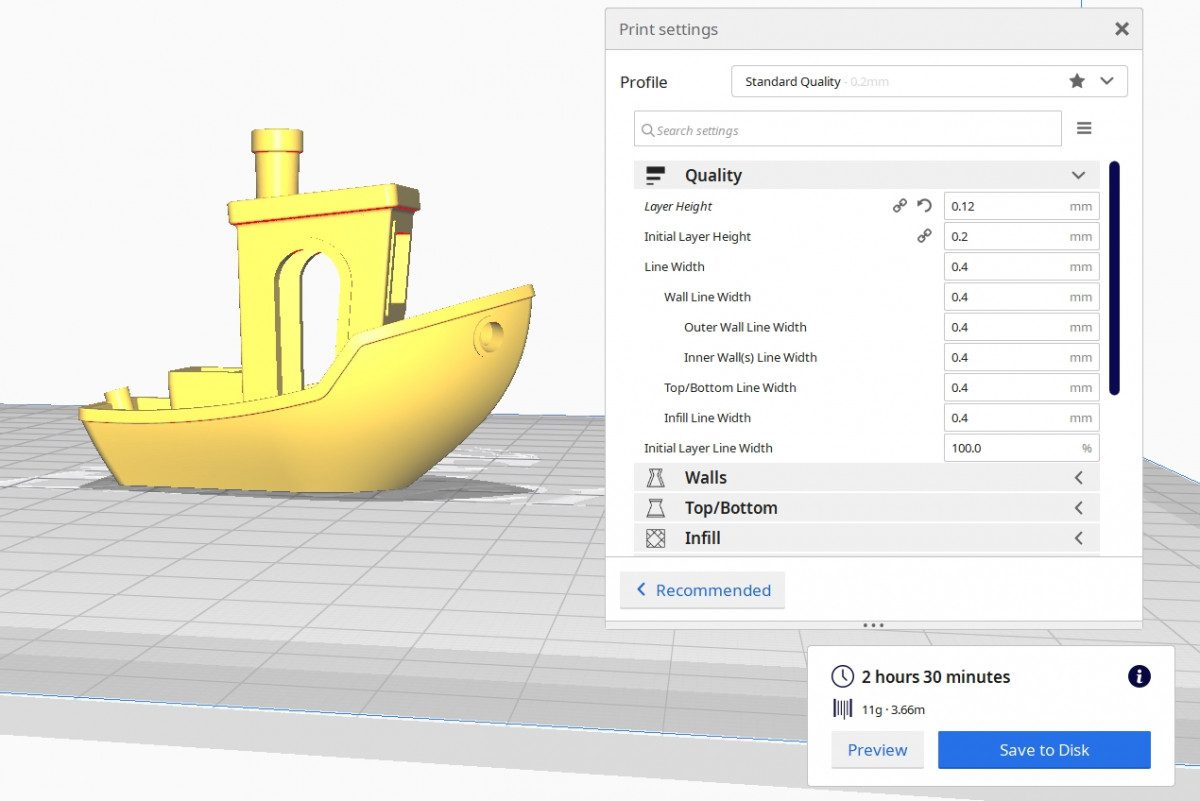 How to Improve 3D Benchy Quality - 3D Benchy 0.12mm Layer Height - 3D Printerly