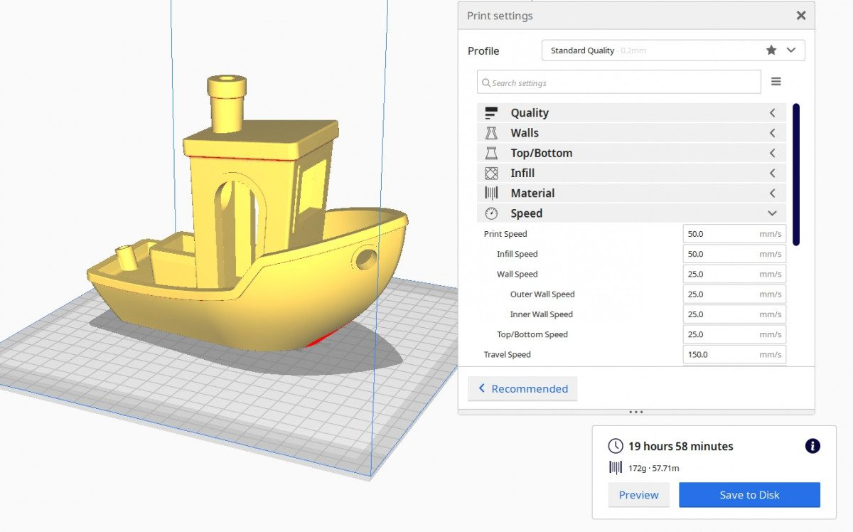 How to Improve 3D Benchy Quality - 3D Benchy 300% Scale - 3D Printerly