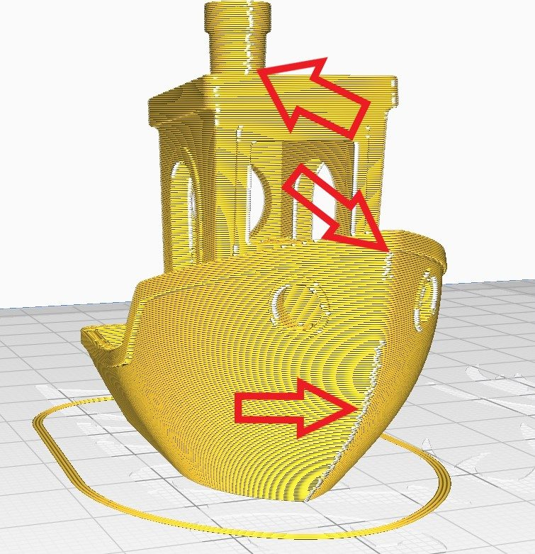 How to Improve 3D Benchy Quality - Seams in White - 3D Printerly