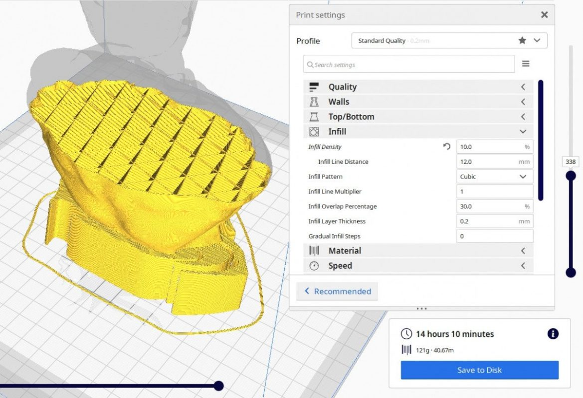 Best Settings for 3D Printer - 10% Cubic Pattern - 3D Printerly