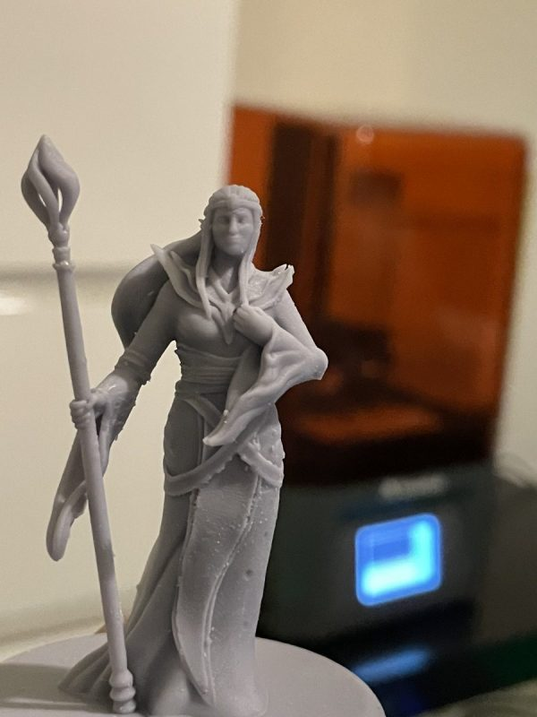 Voxelab Proxima 6.0 Review - Elven Sorceress 1 - 3D Printerly