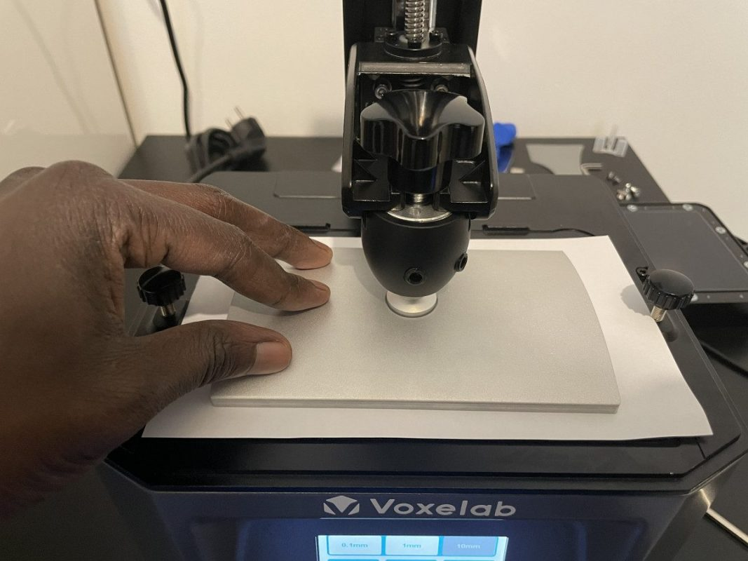 Voxelab Proxima 6.0 Review - Leveling the Build Plate 1 - 3D Printerly