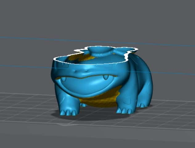 How to Hollow Resin Prints Properly - Hollowed Model Shown in LycheeSlicer - 3D Printerly
