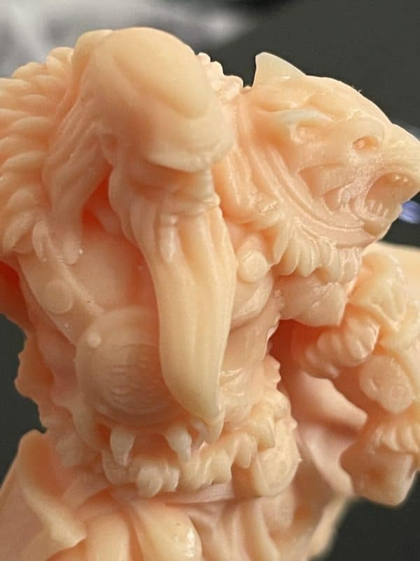 Anycubic Photon Ultra Review - Barbarian Model Closeup 1 - 3D Printerly
