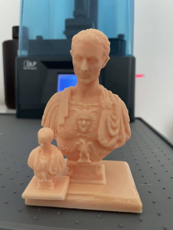 Anycubic Photon Ultra Review - Caesar Model Closeup 3 - 3D Printerly