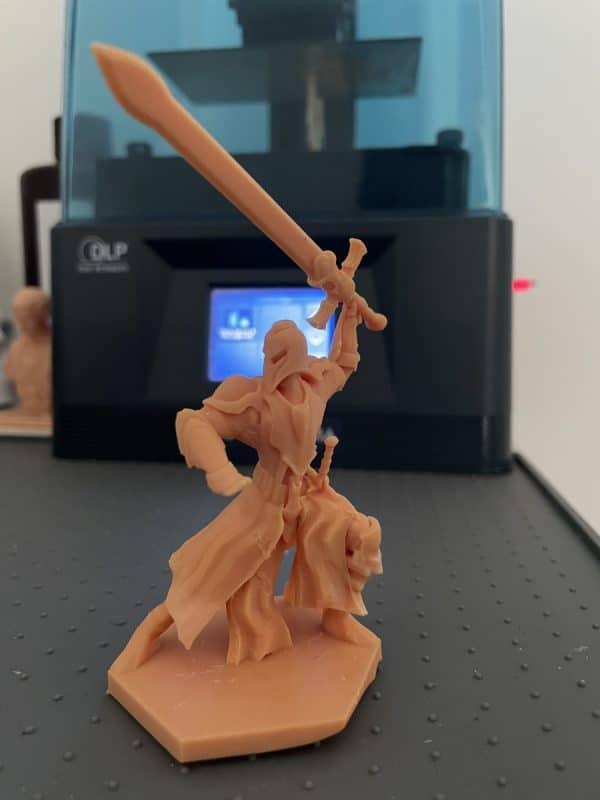 Anycubic Photon Ultra Review - Knight Print - 3D Printerly