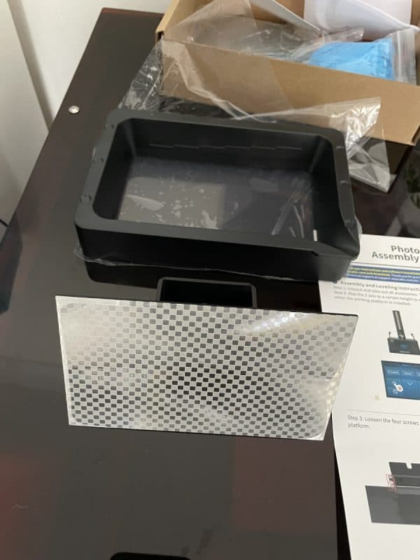 Anycubic Photon Ultra Review - Photon Ultra Build Plate & Vat - 3D Printerly