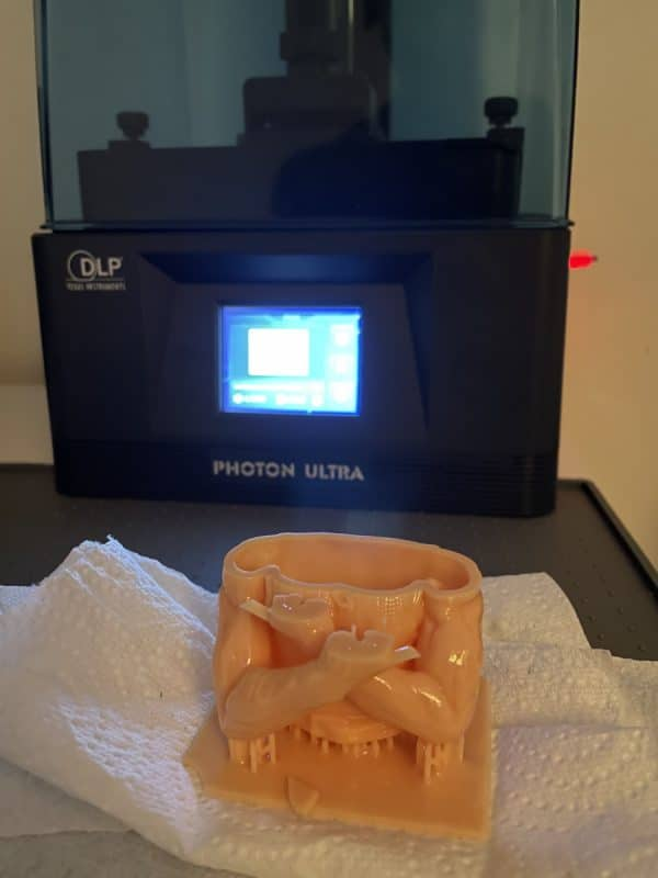 Anycubic Photon Ultra Review - Test Print Failure 1 - 3D Printerly