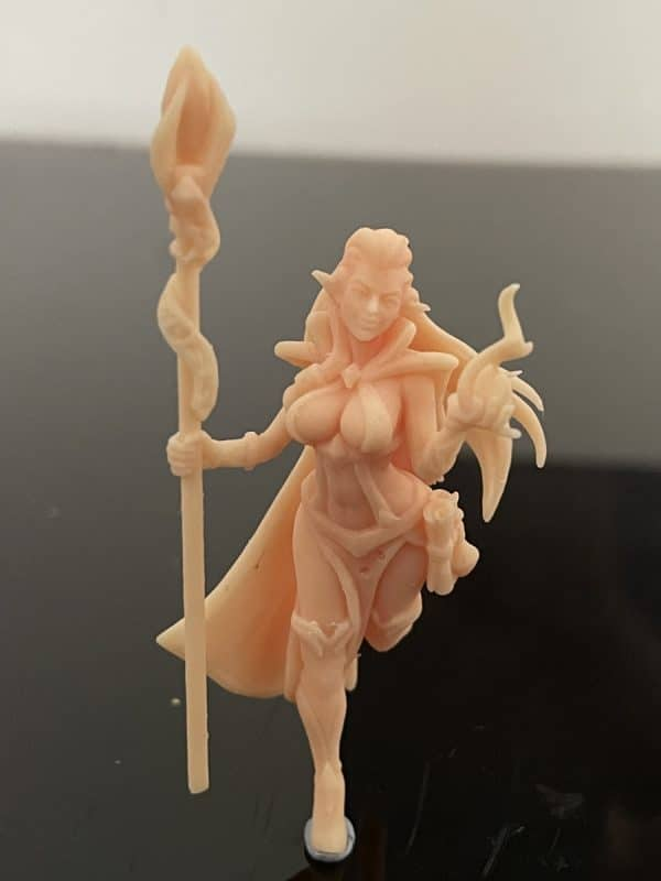 Anycubic Photon Ultra Review - Witch Print 1 - 3D Printerly