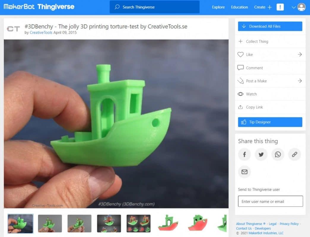 Best 3D Printing Calibration Tests - Benchy - 3D Printerly