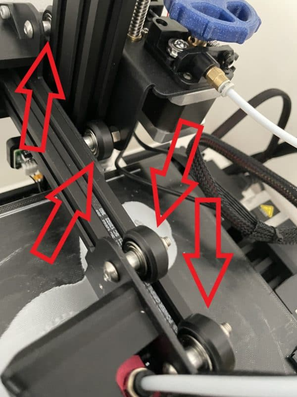 What Are the Parts of a Filament 3D Printer - POM Wheels - 3D Printerly