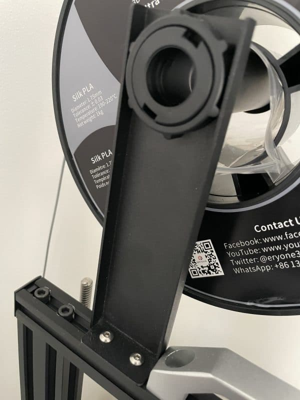 What Are the Parts of a Filament 3D Printer - Spool Holder - 3D Printerly
