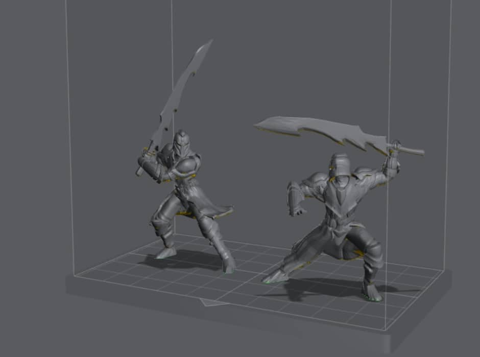How to Orient Resin 3D Prints - Two Knights in Lychee Slicer - 3D Printerly