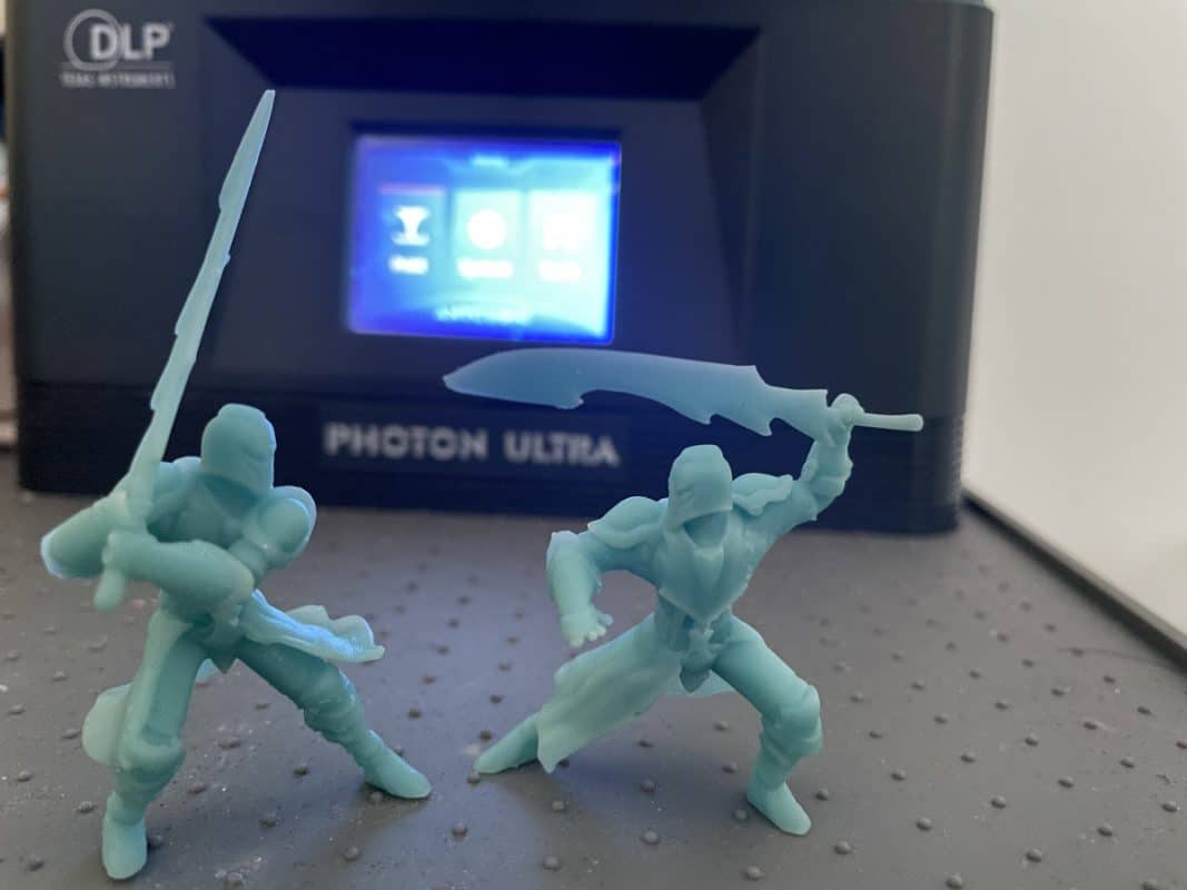 How to Orient Resin Models - Finished Knight Models - 3D Printerly