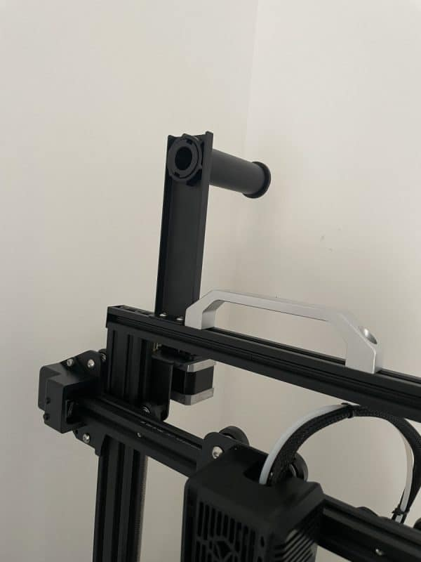 Voxelab Aquila X2 Review - Connected Spool Holder - 3D Printerly