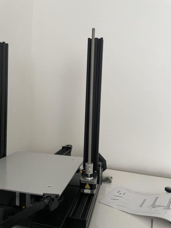 Voxelab Aquila X2 Review - Frame & Leadscrew Assembly - 3D Printerly