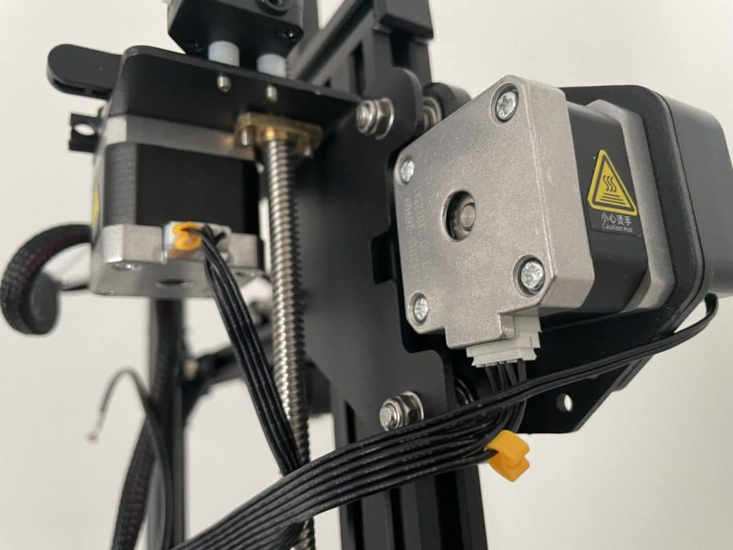 Voxelab Aquila X2 Review - X Axis & Extruder Motor Wiring - 3D Printerly
