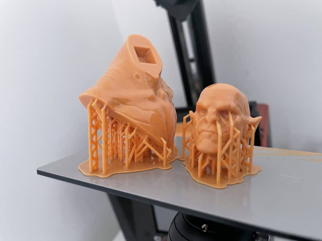 How to Fix Support Separation in Resin Prints - Successfully Printed Model - 3D Printerly