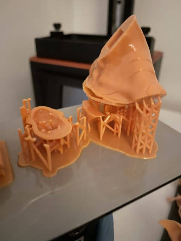How to Fix Support Separation in Resin Prints - Support Separation Failure - 3D Printerly